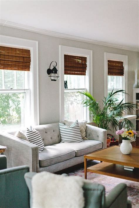quaint  character filled  jersey home living room windows living room white living