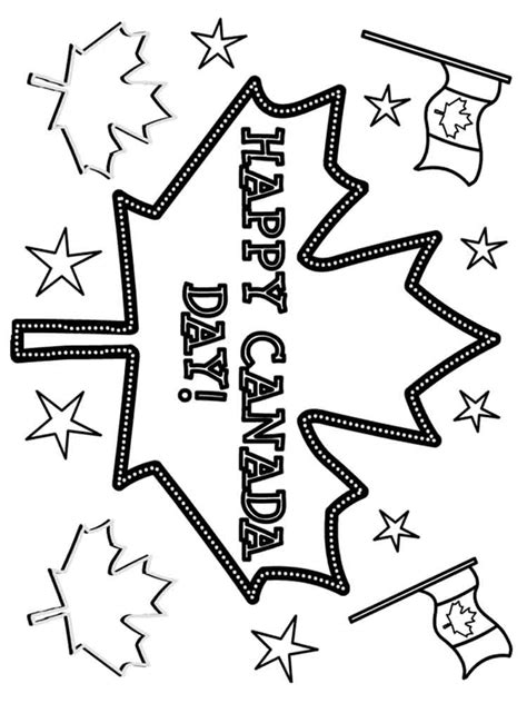 canada day coloring pages  printable canada day coloring pages