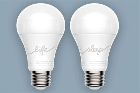 new light bulbs need better sleep ge s new smart led light bulbs adjust