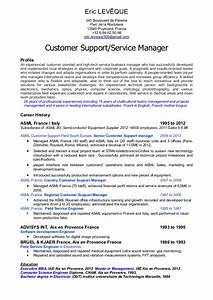 Customer service manager profile resume for Customer service resume profile