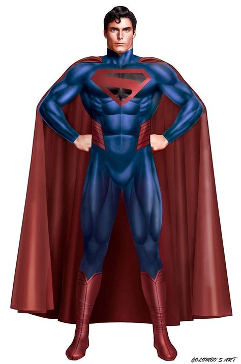 the ultimate superman costume by supersebas deviantart