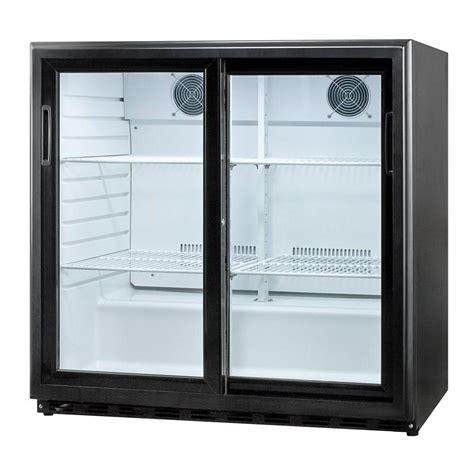 refrigerator with glass door summit appliance 6 5 cu ft sliding glass door all