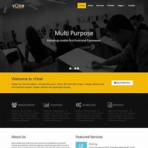 30 best free bootstrap html5 website templates With simple html5 templates free download