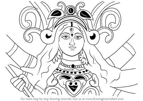 How To Draw Goddess Durga