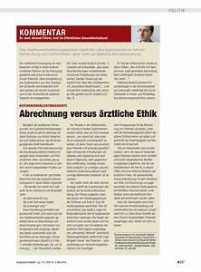 ärztliche Abrechnung : asylbewerberleistungsgesetz abrechnung versus rztliche ethik dtsch arztebl 2016 113 18 ~ Themetempest.com Abrechnung