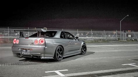 nissan skyline gtr  cool car wallpaper