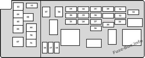 Fuse Box Diagram Toyota Sequoia