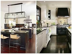 Cuisine Blanc Et Noir : cuisine noir et blanc design ~ Voncanada.com Idées de Décoration