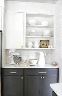 open cabinet kitchen ideas 10 creative ways to update kitchen cabinets my colortopia