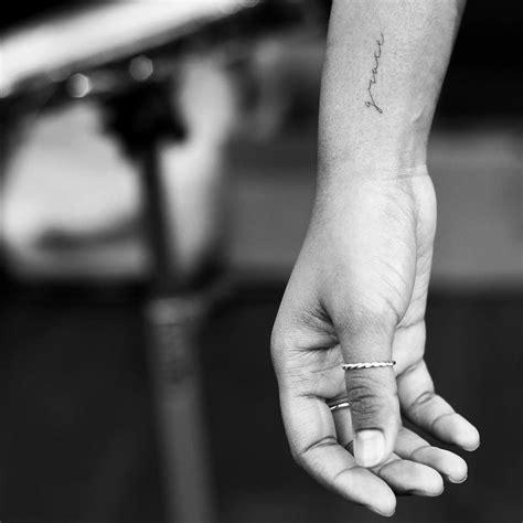 Evantattoo Fineline Word Text Tattoo Side Arm Tattoos