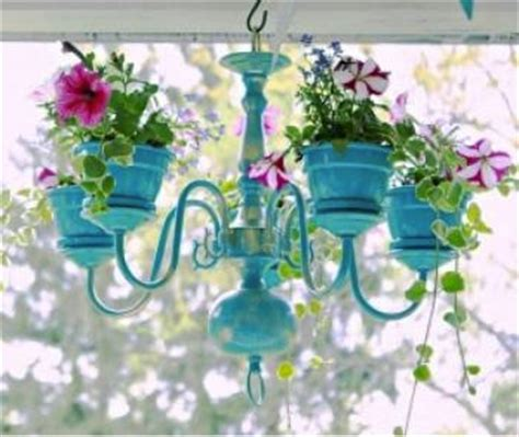 diy chandelier planter do it yourself ideas
