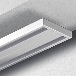 Gardinenschiene Alu 1 Läufig : garduna 300cm gardinenschiene vorhangschiene aluminium weiss glatte gl nzende oberfl che 2 ~ Markanthonyermac.com Haus und Dekorationen