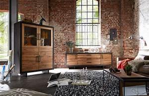 Sejour Style Industriel : s jour ch ne rustique style industriel story ~ Teatrodelosmanantiales.com Idées de Décoration