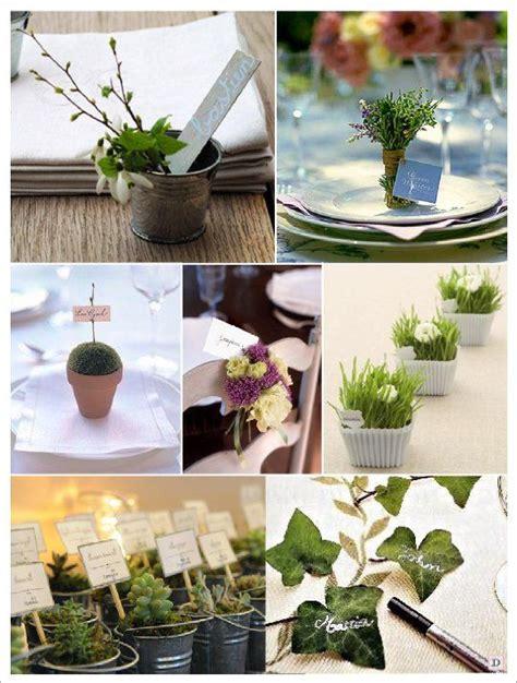 marque place mariage vegetal pot lierre herbe chat porte