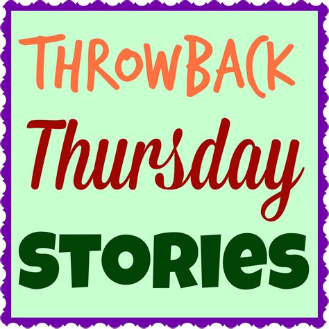 Throwback Thursday Stories Family Of Four Kendranicolenet