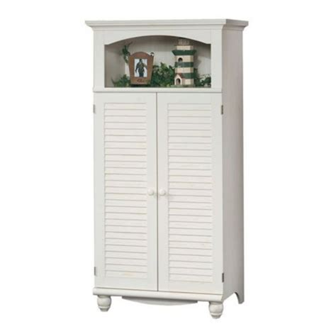sauder studio rta harbor view computer armoire for the