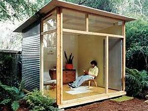 build a writing/art studio from scratch in my backyard
