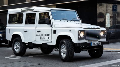 2018 Land Rover Electric Defender Concept Front Hd