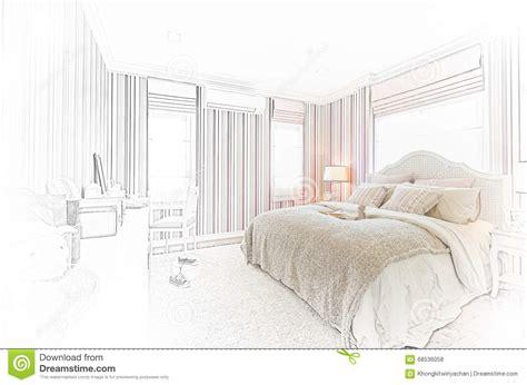 croquis chambre a coucher conception de croquis d 39 intérieur moderne de chambre à