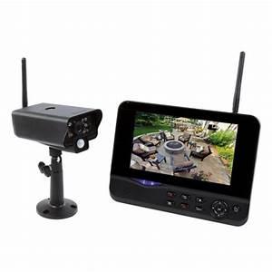 Camera Surveillance Exterieur Sans Fil Autonome : kit video surveillance sans fil ecran 7 et mini camera ~ Dallasstarsshop.com Idées de Décoration