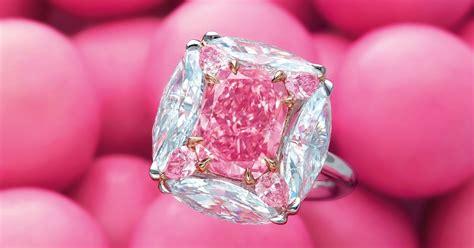 christies hong kong  present hkm  bubble gum pink diamond ring auctions news