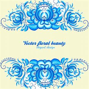 FREE 15+ Blue Floral Patterns in PSD | Vector EPS