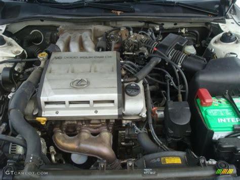 1998 Lexus Es 300 3.0 Liter Dohc 24-valve V6 Engine Photo
