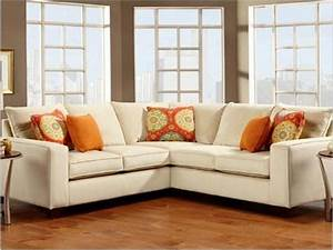 Modern sectional sofas for small spaces smileydotus for Reclining sectional sofa for small space