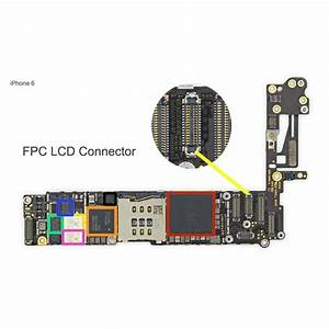 Fpc Lcd Connector  Connector Iphone 6 Repair Service