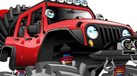 cartoon jeep wrangler jeep off road 4x4 cartoon tshirt 8188 automotive art ebay