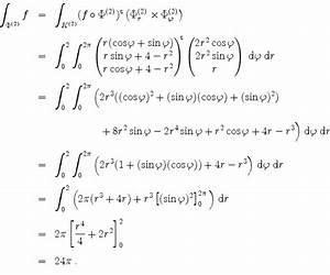 Normalenvektor Berechnen : mathematik online aufgabensammlung l sung zu aufgabe 1352 gau scher integralsatz ~ Themetempest.com Abrechnung