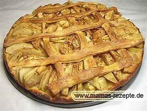 Mamas Rezepte : knuspriger apfelkuchen mamas rezepte mit bild und kalorienangaben ~ Pilothousefishingboats.com Haus und Dekorationen