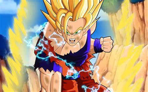 Image Ssj2 Goku Wallpaper Yvt2 Dragon Ball Wiki