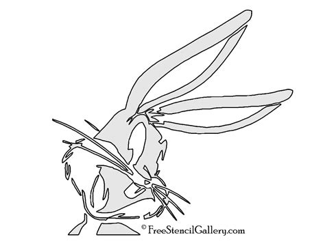 bugs bunny stencil  stencil gallery