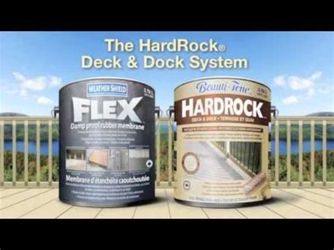 how to stain a deck using superdeck deck dock