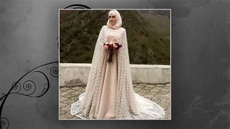 desain gaun pengantin muslim modern terbaru youtube