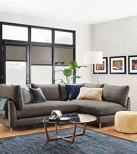 room and board sectional sofa reviews brokeasshomecom With room and board sectional sofa reviews