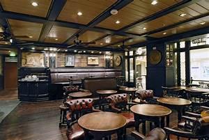 English Pub Design Ideas: Faux Books for Themed Pubs