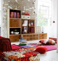 livingroom storage casual chic living room decor rustic storage colorful cozy furniture