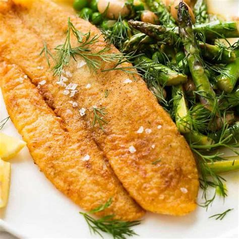 Fried dill pickles, fried okra, green tomatoes turn carefully and continue cooking until browned on the other side. Crispy Pan Fried Fish | Fried fish recipes, Fried fish ...