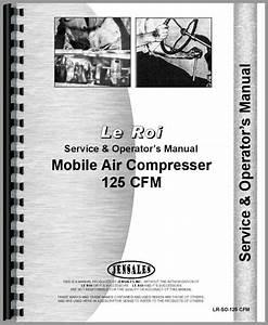 Leroi 125 Tract Air Tractor  U0026 Air Compressor Service