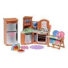 toys r us kitchen accessories fisher price loving family dollhouse premium decor 8564
