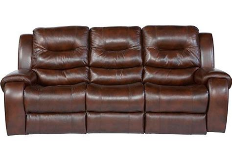 what to look for in a leather sofa shop for a verano dark burgundy blended leather reclining