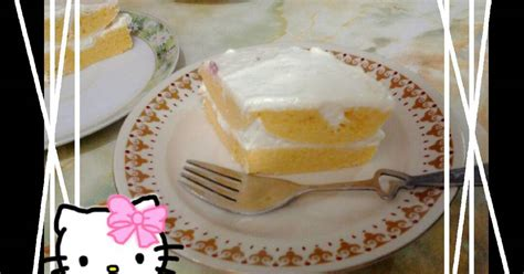 resep nutrisari orange cake oo oleh ayumie kitchen