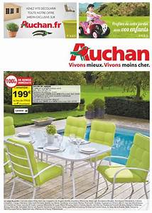 Table De Jardin Auchan : catalogue auchan jardin au 28 avril 2015 catalogue az ~ Teatrodelosmanantiales.com Idées de Décoration