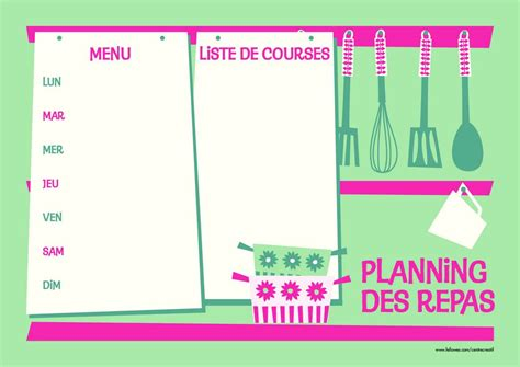 """Check out our planning repas semaine selection for the very best in unique or custom, handmade pieces from our shops. Search Results for """"Planning Imprimer Semaine"""" - Calendar 2015"""