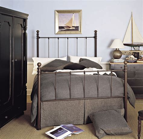 bedroom nautical wall design ideas with wrought iron