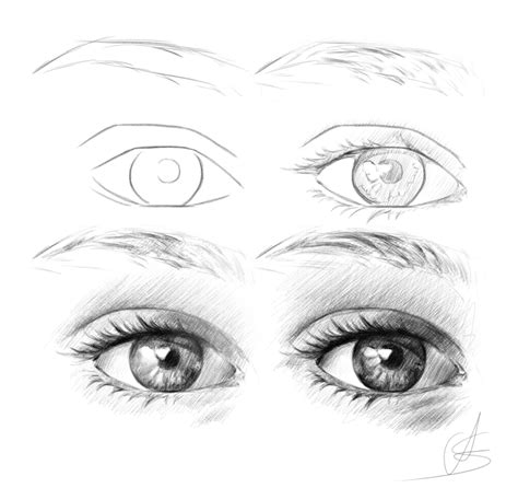 realistic eye tutorial  styrbjornandersson  deviantart
