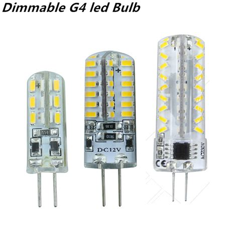 2015 new dimmable g4 led bulb l high power smd3014 3w