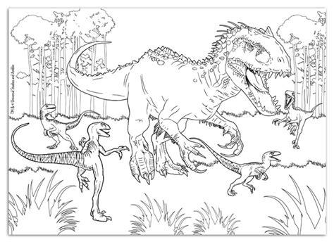 disegni da colorare dinosauri jurassic world dettaglio helpdesk